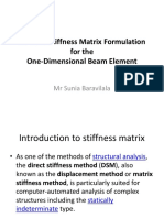 L2_Beam Element Stiffness Matrix Formulation