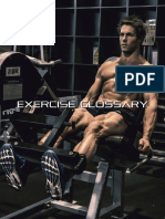 12week Shred - Exercise Glossary