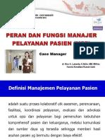Presentasi Case Manager Rsud Urm