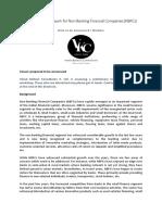 Regulatory Framework for NBFCs 1