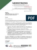 Oficio de Respuesta Daño Del Trafo 200kVA