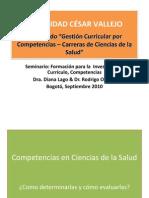 Competencias Ciencias Salud 2010-Ucv