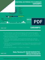 Sarampo - Vigilancia Laboratorial No Período Pós Eliminação Por FVS