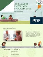 Semiologia Cádio-Circulatória Da Criança e Adolescente