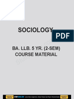 Sociology eBook & Lecture Notes PDF Download (Studynama.com - India's Biggest Website for Law Study Material Downloads)