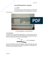 Estructuras Hidráulicas - V. Flujo Rápidamente Variado