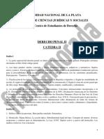 Rpograma Derecho Penal II Cat 2
