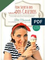 A Vida Secreta Dos Gelados Caseiros - Rita Nascimento