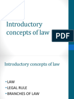 Lecture 1_ Introductory Concepts of Law