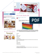 How to make a Rainbow Cake   Baking, Recipes and Tutorials - The Pink Whisk