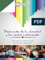 Declaracion de La Juventud Defensoria Del Publico