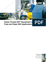 MC pulp Equipment