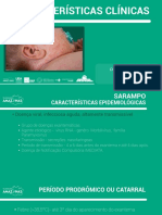 Sarampo - Características Clínicas Por FVS