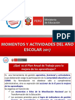 Momentos y Actividades Del Año Escolar 2017