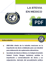Presentacion Status Stevia Mexico Susana Valdez