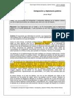 Javier Noya Diplomacia Publica