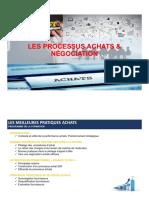 Processus Achats et Négociation J1