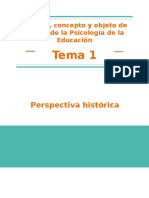 PRIM_T1. Hstoria, Concepto y Objeto de Estudio