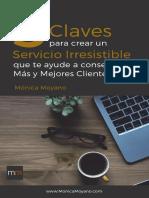 eBook 5 Claves Para Crear Un Servicio Irresistible Lm v2