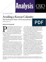 Avoiding a Korean Calamity