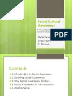 Social Kultural Awareness Faisal