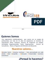 Dossier Presentación Consultora Emgeser OTEC Vinculos 2015