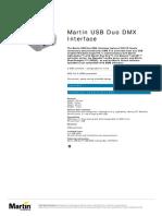 Martin USB Duo DMX Interface