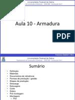 Aula 10 - Armaduras