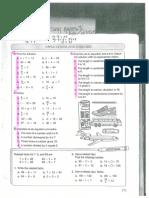 algebra - opposite operations
