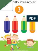 Cuadernillo preescolar 3