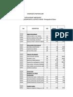 Cronograma de Estructuras