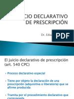 5 -Juicio Declarativo de Prescrición