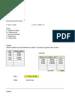 Calculo de Periodo de Diseño - Pimentel