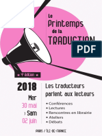 Printemps de la traduction 2018