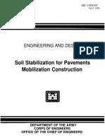 EM 1110-3-137 Soil Stabilization for Pavements  Mobilization Construction.pdf