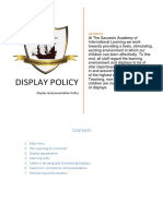 Display Policy