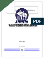 Manual de Procedimientos de Terapia Respiratoria
