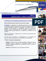 Modulo I Aspectos Politicos Juridicos Institucionales