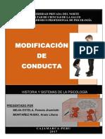 .Modificacion de Conductas