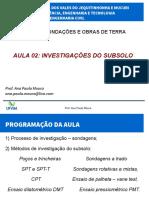 Aula02 Investigacoes Do Subsolo
