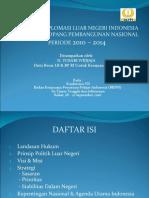 1. STRATEGI DIPLOMASI LUAR NEGERI INDONESIA DALAM MENOPANG PEMBANGUNAN NASIONAL
