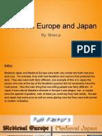medieval europe and medieval japan