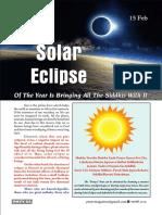 The Solar Eclipse - A Divine Event