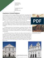Arquitetura Colonial Religiosa