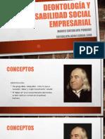 Deontología y Responsabilidad Social Empresarial