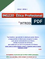 Etica Profesional - Cap 1