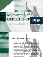 50 Conceptos Relevantes Del Derecho Civil