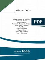 2003 - Gustavo Bueno - La Izquierda Ante España. Texto de FAES - España, Un Hecho. Enero 2003