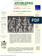 1957 - Gustavo Bueno - Pedagogía Masculina y Pedagogía Femenina, 1957