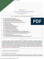 1995 - Gustavo Bueno - Principios de una Teoría Filosófico Política Materialista. 1995
